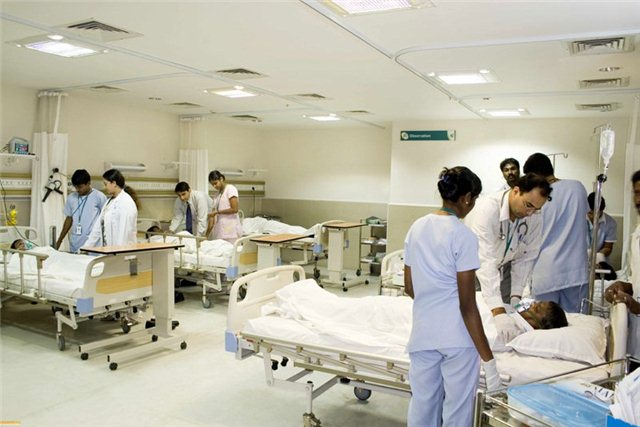 Реанимация Aполло Госпиталя, Бангалор