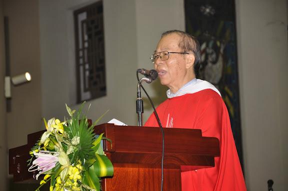 Video: Giảng lễ Bổn mạng Hội đồng Mục vụ giáo xứ (2014)