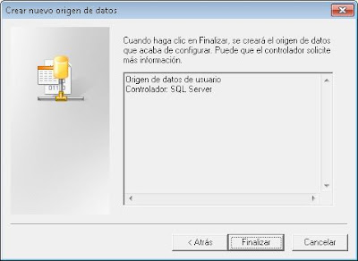 Acceso a tabla de SQL Server Express desde Microsoft Access usando ODBC