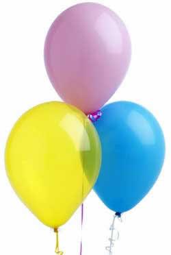 Success balloons