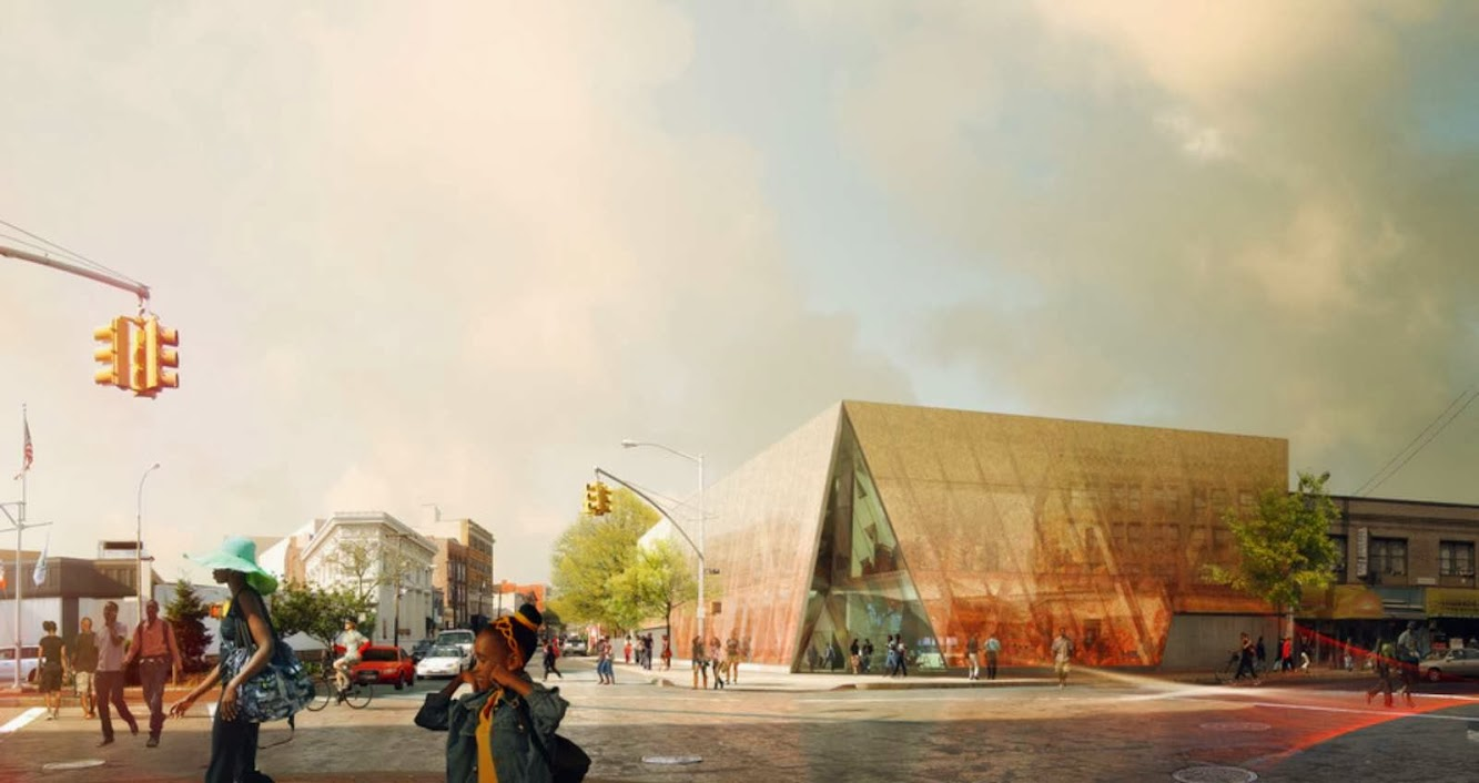 Queens, New York, Stati Uniti: Far Rockaway Branch Library by SnØHETTA