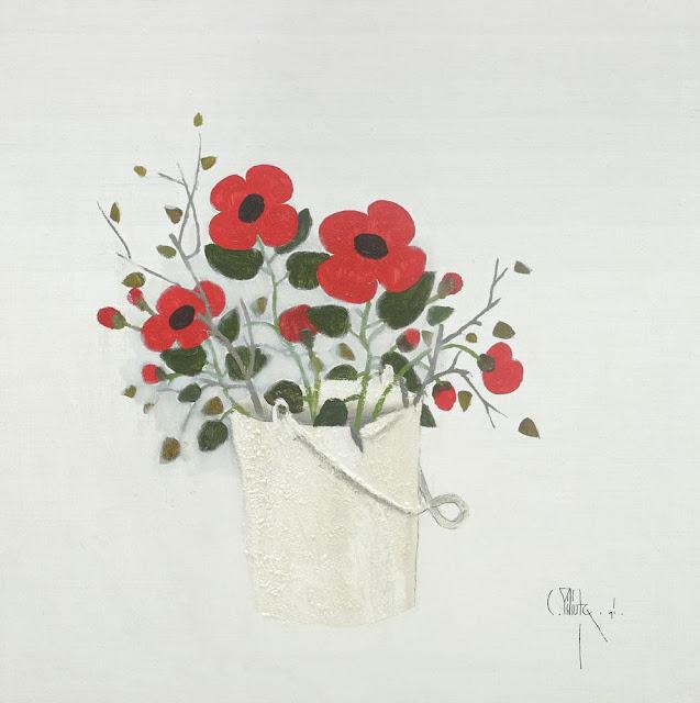 Constantin Piliuță - Căldare cu flori