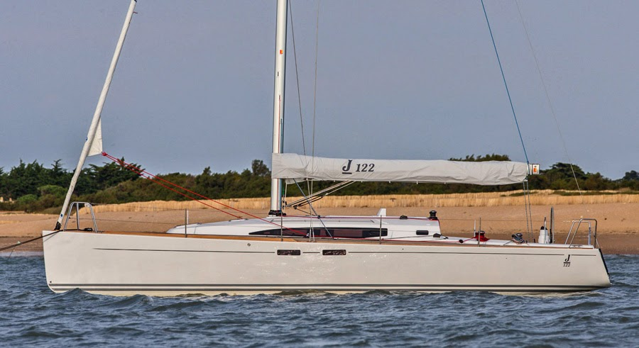 New J/122E offshore cruiser-racer sailboat with European styling