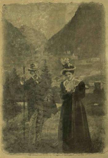 Umberto király és Margit királyné turista kiránduláson