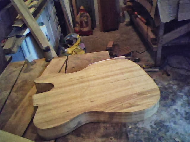 Construção guitarra telecaster, meu 1º projeto bolt on. Finalizado e com vídeo Imagem+019