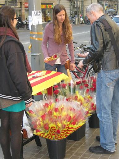Праздники и ферии: (Барселона - 23 апреля, день влюбленных)