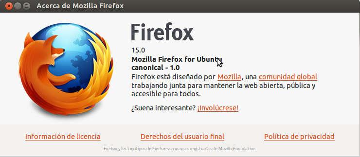 firefox%252015 Ubuntu 12.10 quantal Alpha 3 todas las novedades