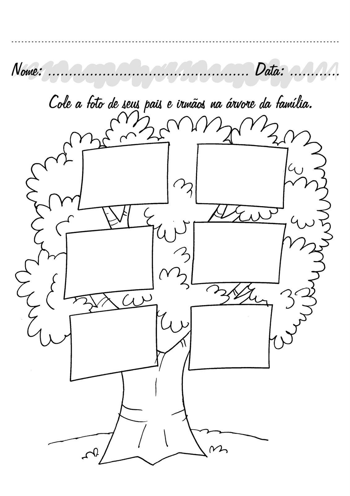 Muito Prof. Criseila: Árvore Genealógica HH73