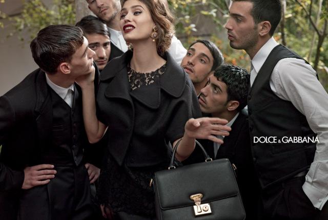 *戲劇性的拍攝手法:Dolce & Gabbana 2013秋冬形象照 4
