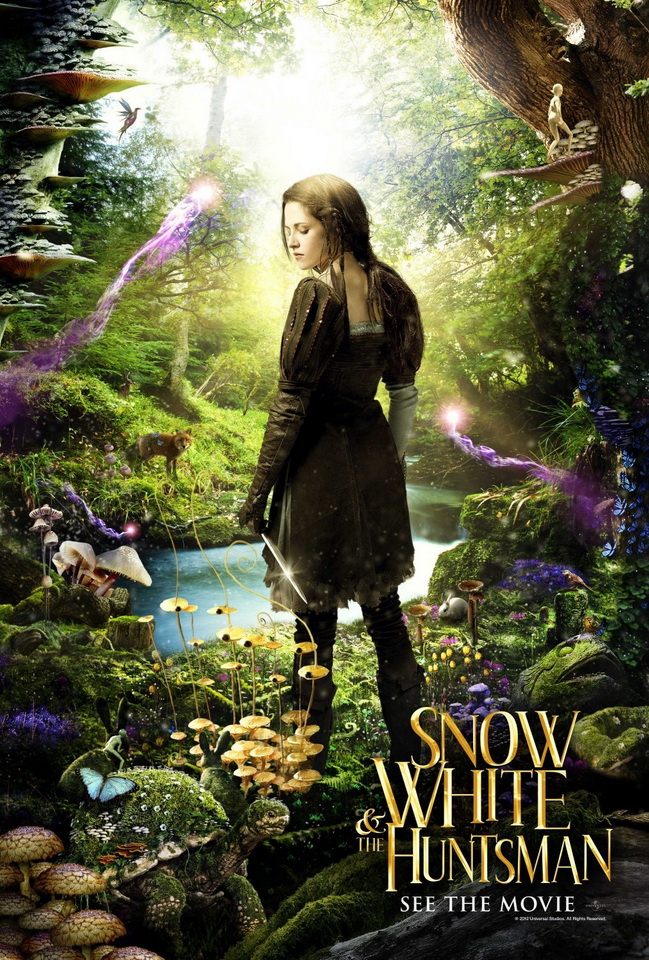 iPhone4  Wallpapers Snow White and The Huntsman Poster