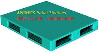Pallet mặt bít nhập khẩu Thái Lan