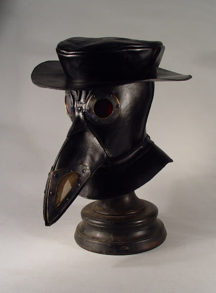 bob bassets lair � steampunk plague doctor mask with hat