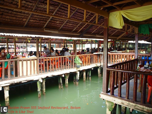 Golden Prawn 555 Seafood Restaurant in Batam picture batam free easy  photo