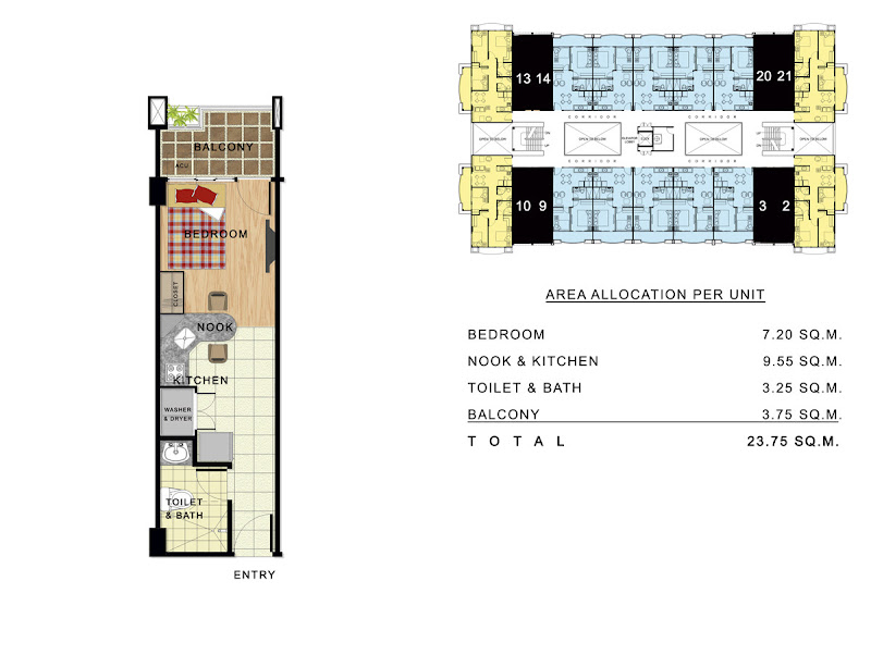 Linmarr Towers Davao studio suite