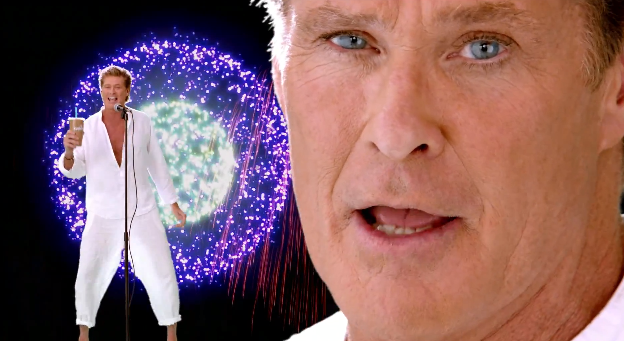 David Hasselhoff is Thirsty for Love and It's Sad