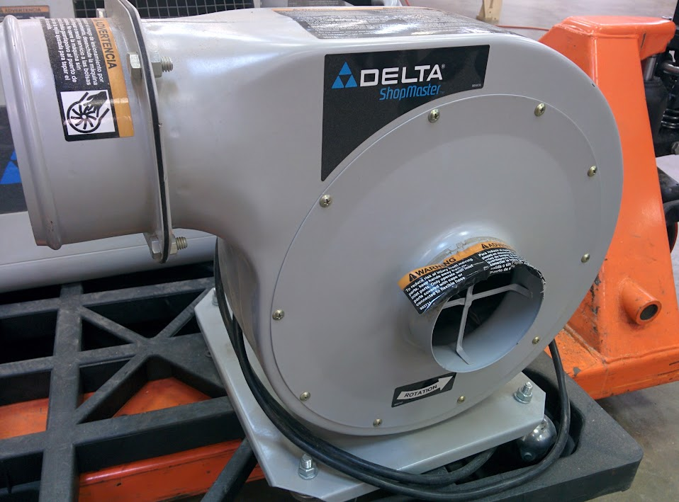 Dust Collector Blower : Silent auction delta dust collector blower air cleaner