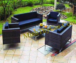 Rattan Sofa Set-MT123