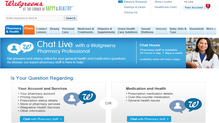 Answers at Walgreens - Online Pharmacist Chat #WalgreensAnswers #shop
