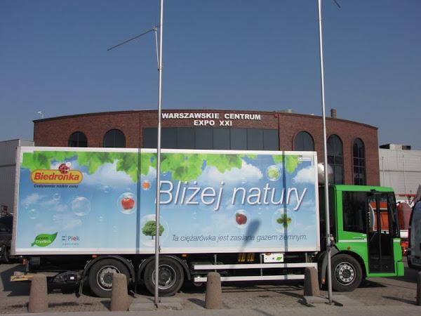 Nadzieja rynku CNG w Polsce na rozwój - zainteresowanie 'Biedronki' wdrażaniem CNG w cieżarówkach