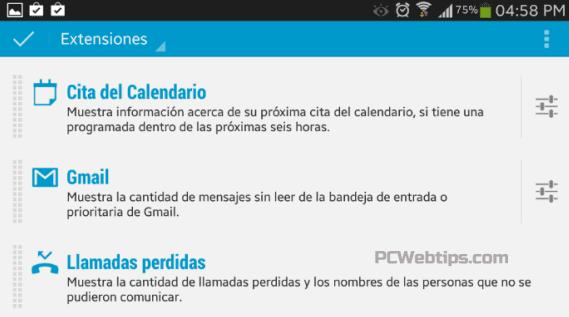 4-personalizacion-DashClock-Android