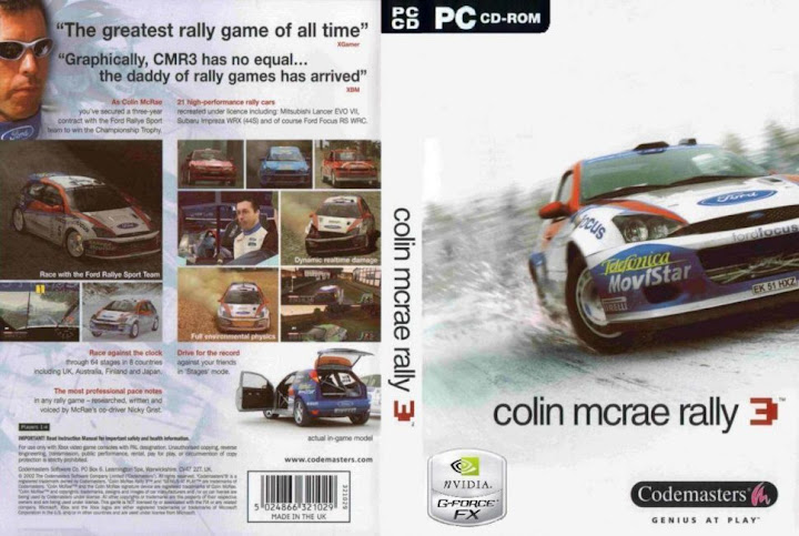 Colin McRae Rally 3 para Pc [Rip][1 link]