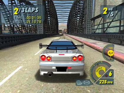 Screen Shot Of Juiced (2005) Full PC Game Free Download at Alldownloads4u.Com