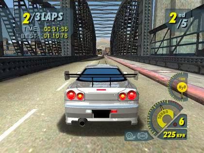 Screen Shot Of Juiced (2005) Full PC Game Free Download at Alldownloads4u.Com