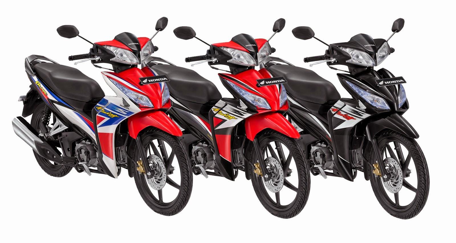 Modifikasi Honda Blade Road Race