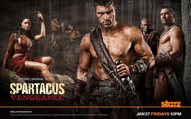浴血戰士:競技場之神 Spartacus