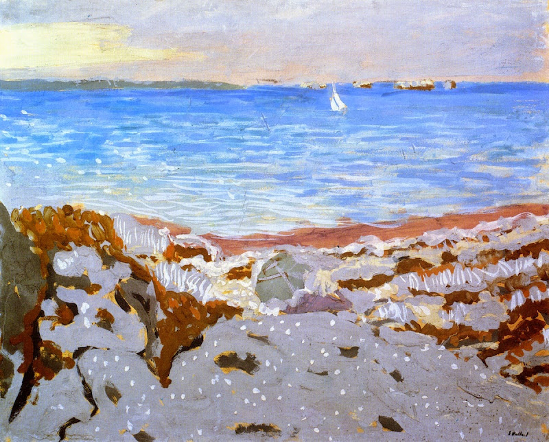 Édouard Vuillard - Beach at Saint-Jacut