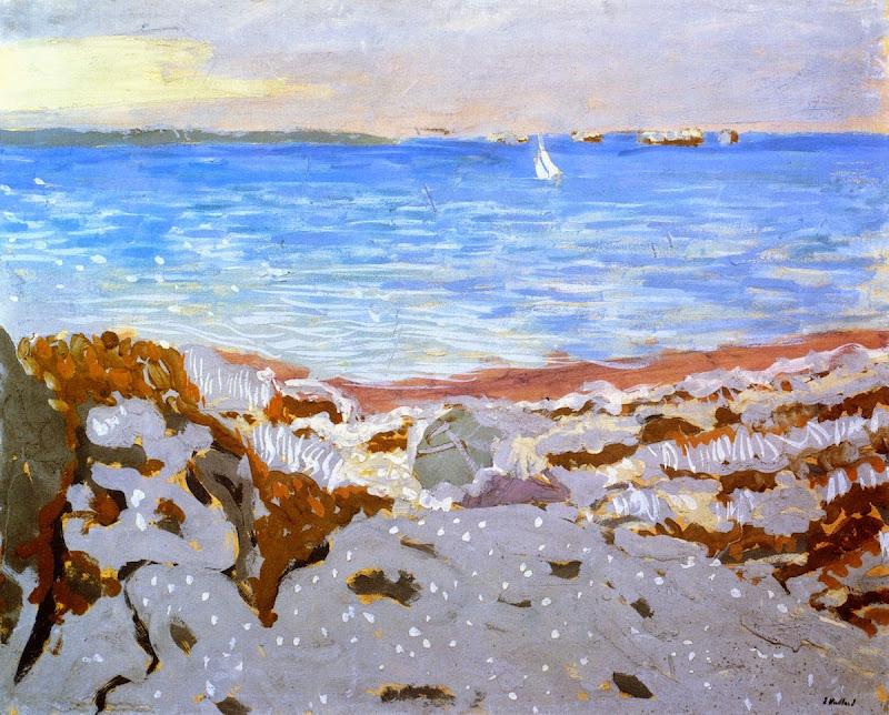 Édouard Vuillard - Beach at Saint-Jacut