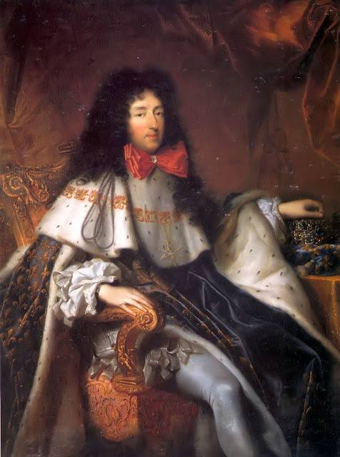 Pierre Mignard - Philippe, duke of Orléans and brother of Louis XIV, bearing the cross of the Order of the Holy Spirit