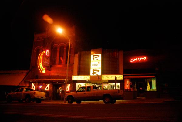 Main Street neon