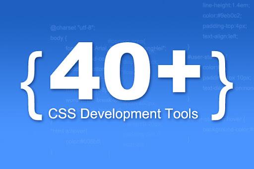 40 + CSS開發工具