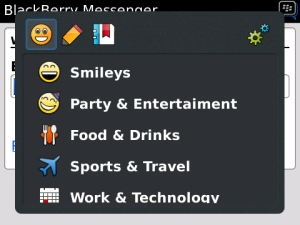 Fancy Characters v5.1.2 BlackBerry