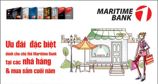 M-Smart: Thuong thuc am thuc va uu dai mua sam cuoi nam voi Maritime Bank