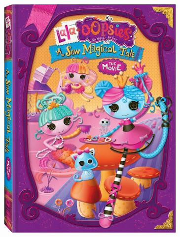Lala-Oopsies A Sew Magical Tale The Movie - Now on DVD