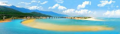 Vietnam Tours, Vietnam Travel - Lang Co beach