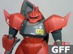 Principality of Zeon MS-14S Gelgoog Commander Type Johnny Ridden custom