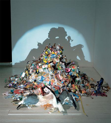 Скульптуры-тени
