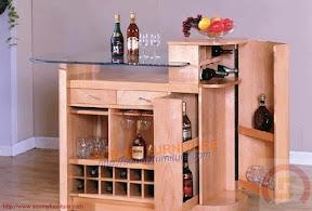 Tủ rượu gỗ 10
