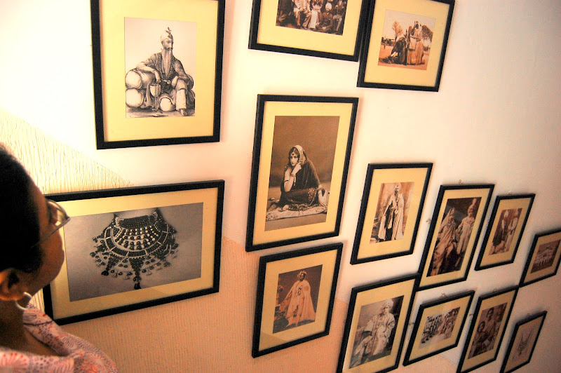 Beautiful framed pictures at Chawla's 2, Calcutta