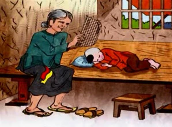 Chùm thơ hay viết về bà nội, bà ngoại kính yêu