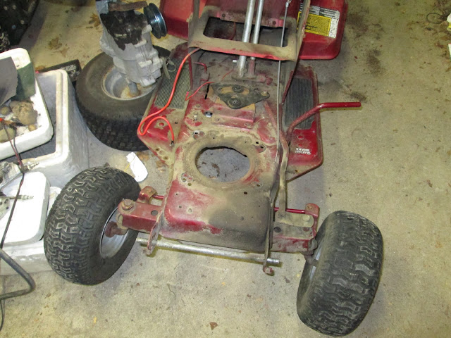 Murray Racing Mower : Murray off road mower build
