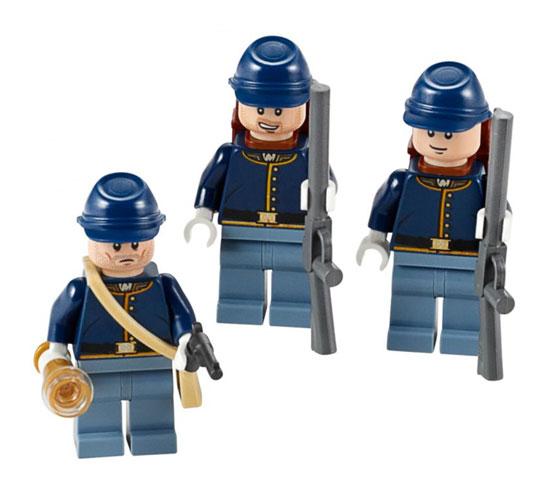 Đồ chơi LEGO The Lone Ranger – The Cavalry (Lính kỵ binh)