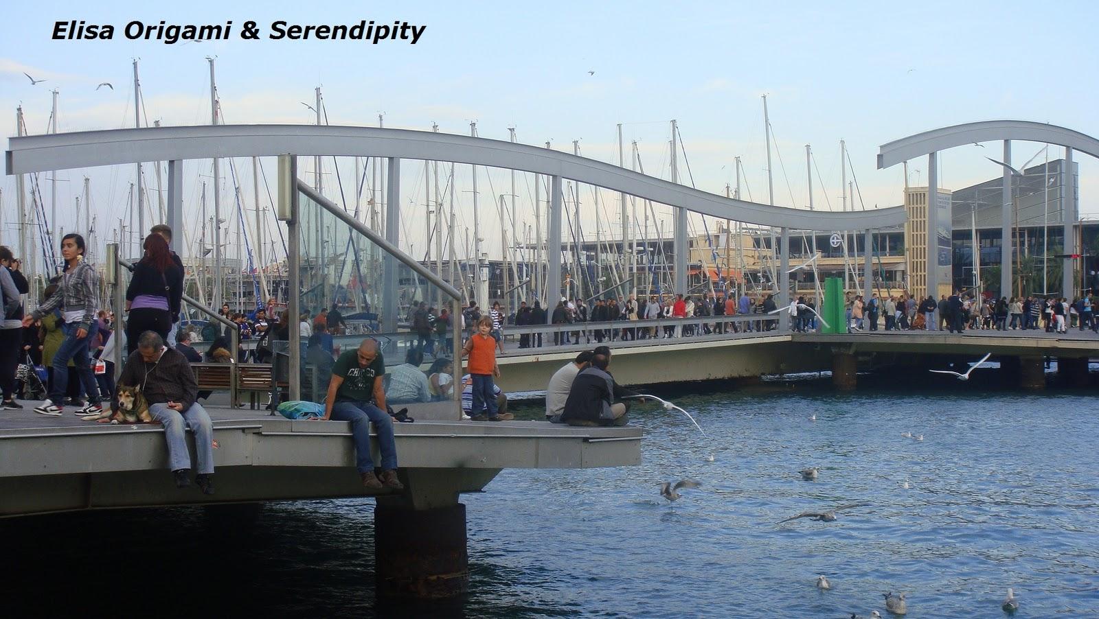 Atardecer en Port Vell, Barcelona, Blog Elisa N Viajes