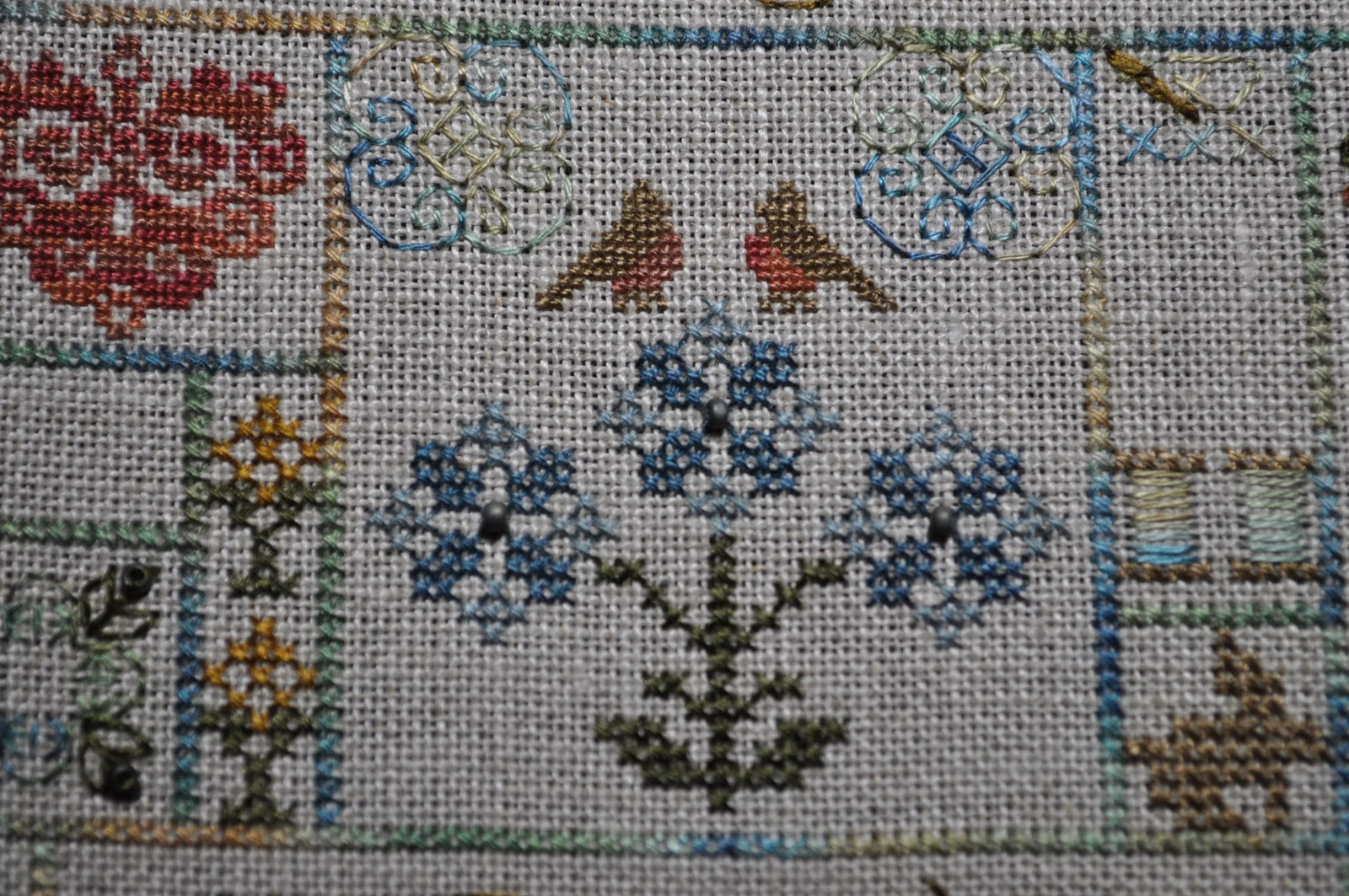 My Stitching Treasures Jeannette Douglas Cross Stitch Pattern