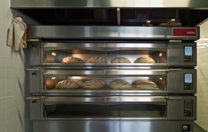 Modern style of bakery
