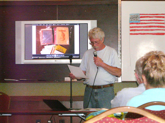 Tom Parson discussing the Graham-Wesson collection