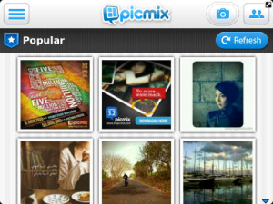 PicMix v3.5 BlackBerry Apps
